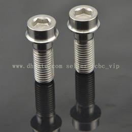 Wholesale 2pcs Titanium Ti For DUCATI Brake Caliper Bolt M10 x mm mm