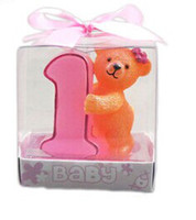 Bear cake small candle and teacher' s Day gifts gifts fo...