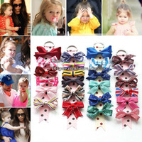 wholesale hair barrettes - Childrens Accessories Hairclips Girl Barrettes Bow Hair Slides Children Hair Accessories Kids Clip Baby Hair Accessories Girl Hair Clips