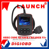 Wholesale LAUNCH Distributor Auto Code Reader Launch Creader VI Car Scan Tool Original update by internet Creader Plus