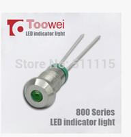 Wholesale 6mm waterproof IP67 level indicator exposed power waterproof lights thin wire welding V