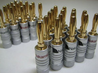 Wholesale Nakamichi K Gold Speaker Banana Plugs Connector