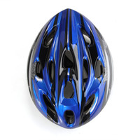 racing bicycle - Blue Black Mountain Road Race Bicycle Bike Cycling Safety Unisex Helmet Visor L