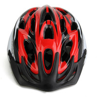 Wholesale Road Mountain Bike Bicycle Cycling Helmet Visor Adjustable Red Size L