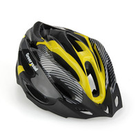 bike racing bicycle - Road Bike Racing Bicycle Cycling Helmet Visor Adjustable Carbon Yellow