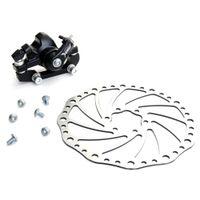caliper disc brake - Mountain Road Bicycle Bike Mechanical Rear Disc Brake Caliper Set Black
