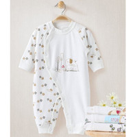 Wholesale Baby bodysuit spring and autumn romper newborn clothes summer printing baby clothes year old male female baby