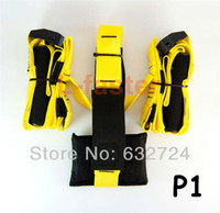 Cheap Total Body Training Body Trainer Exercise Straps Home Fitness kit- yellow