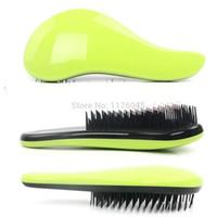 Wholesale J87Magic Detangling Handle Tangle Shower Hair Brush Comb Salon Styling Tamer Tool