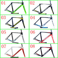 Wholesale Scott Foil Carbon Bike Frame Special Carbon Fibre K Weave Lightweight Road Cycling Bicycle Frame Different Size Color Bike Frame