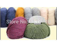 Cheap high quality cashmere blended hand knitting yarn sales promotion+ free shipping+gift