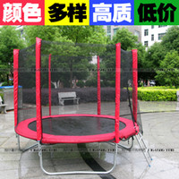 Wholesale Child household big jumping bed outdoor adult slimming big trampoline spring belt fence
