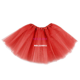 Wholesale Cheapest Colors Women Ballet Skirt Adults Organza Costume Ball Gown Tutu Stereo Skirt SV006461
