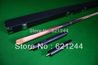 Wholesale 3 Custom Hand Made Maple Splice Snooker Pool Cue With Free Cue Case and Extension