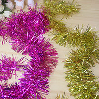 christmas garland - Christmas Garland Double Tops Evening Celebration Festive Supplies Decorative Colorful Bar of M Length CM Width