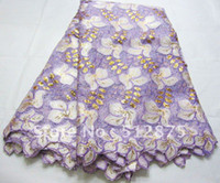 Wholesale african handcut voile lace fabric swiss voile lace high quality wedding lace cotton LL A0008