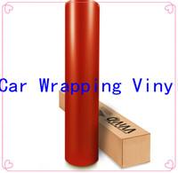 vinyl material - PVC Material Car Stickers online D Carbon fiber vinyl film in Orange Color Texture car wrapping vinyl