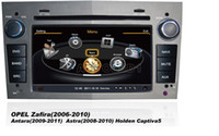 Wholesale OEM for Opel Zafira Astra vectra antara Car DVD Player With GPS Navigation free Map Radio AM FM Audio Video Stereo System with Bluetooth