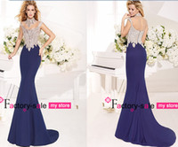 Cheap 2014 Tarik Ediz High Neck Evening Dresses Sheer Illusion Satin Cap Sleeve Crystal Beads See Through Back Pageant Prom Gowns TE92328