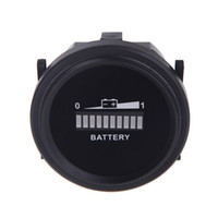 Indicador de batería universal digital LED Medidor Probador Estado metro del monitor Medidor de carga analizador 12V / 24V / 36V / 48V / 72V K1369