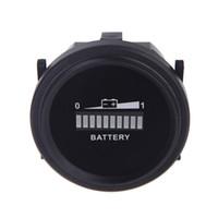 battery charge tester - Universal Digital LED Battery Indicator tester Gauge Status Charge Monitor Meter Gauge Analyzer V V V V V K1369