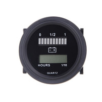 battery status indicator - 12V V V V V LED Car Digital Battery Tester Status Charge Indicator Hour Meter Gauge Battery Diagnostic Tools Measurement K1375