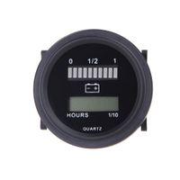 12v battery car - 12V V V V V LED Car Digital Battery Tester Status Charge Indicator Hour Meter Gauge Battery Diagnostic Tools Measurement K1375