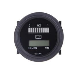 Wholesale 12V V V V V LED Car Digital Battery Tester Status Charge Indicator Hour Meter Gauge Battery Diagnostic Tools Measurement K1375