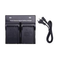 Wholesale Hot Sale Dual Channel Digital Battery Charger for LP E8 Battery Canon EOS D D D D Camera D1339