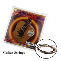 Electric electric - Guitar Parts Accessories Acoustic Guitar Strings Wound Clear Nylon Guitar Strings Alice A107BK H I393