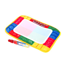 Wholesale Kids Drawing Water Mat Tablet Aqua Doodle cm Multicolour Drawing Board Pen Graffiti canvas T194