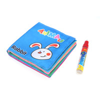Baby drawing book - Water Drawing Cloth Book Kids Aquadoodle Mat cm cm Educational Toys Drawing Pen T196
