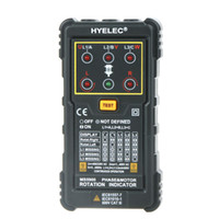 Wholesale HYELEC MS5900 Motor Phase Rotation Indicators Tester Meters for FLUKE F9040 F9062 H11872