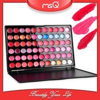 Wholesale Lipstick Lipgloss Lip Gloss Make Up Lip Stick Lip Pigment MSQ color mineral Cosmetics Makeup Palette Set Professional Tools Kit Hot New