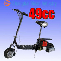 gas motor scooter - Brand New Fast All Terrain cc Stroke GAS Motor Scooter dirt bike mph