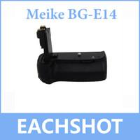 Cheap MeiKe BG-E14 Vertical Battery Grip Holder For Canon EOS 70D Camera