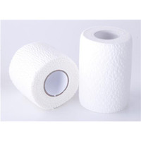 cotton fabric roll - Medical Light Bandage Cotton Fabric Self Adhesive Bandage cmx4 m Sports Safety Products Rolls One DL060202
