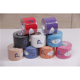 Wholesale I Shape Cotton Kintape Pre Cut Sports Elastic Tapes Rolls A Kinesiology Tapes High Quality Athletic Accessories DL030901