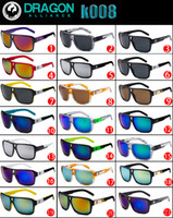 Cheap Free shipping Factory wholesale price cycling sport mirrors Dragon Brand DRAGON THE JAM K008 fashion sunglasses UV400