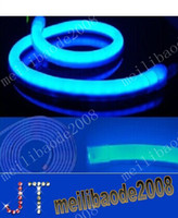 led neon flex - 100m led M LED Neon Flex Red color m LED soft neon light LED Flexible neon strip LED neon rope lights V free ship MYY2756A