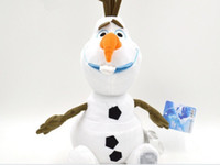 Wholesale Cheap Cartoon Movie Frozen Olaf Plush Toys For Sale cm Cotton Stuffed Dolls factory price