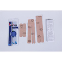 Wholesale Wrist Kintapes Cotton Fabric Sports Taping Pieces One Physical Pre Cut Tapes for Sale Online DL070108
