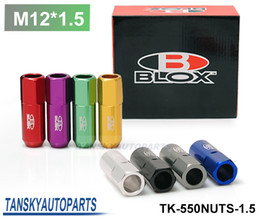 Wholesale Blox Forged Aluminum Lug Nuts P L mm Set Default color is Red TK NUTS