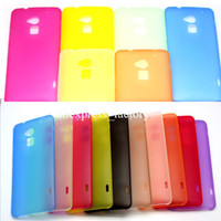 Cheap 0.3mm Thin Slim Matte Frosted Transparent Clear Soft PP Cover Case Skin for HTC One Max T6 Free Shipping DHL 1000pcs lot