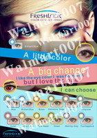 Wholesale FREE Paper Posters New models Freshlook contact lens colors Contact Lenses make your eyes more Beautiful Your best choice