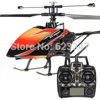 Cheap High Quality WLtoys V912 Big 52cm 2.4Ghz 4CH Single Blade Remote Control RC Helicopter Gyro RTF upgrade V911 helicopters