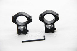 Tactical 1 Pair 25.4mm Diameter Rifle Scope Weaver 11mm Ring Mount Weaver Rail For Hunting