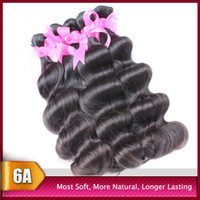 Wholesale Amazing Quality A Body Wave Long Time Lasting Brazilian Indian Peruvian Malaysian Virgin Human Hair Weaves Weft Hair Extensions