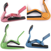 Wholesale Fashion Colorful Quick Universal Acoustic Tune Change Clamp Key Claw Capo For Electric Classic Guitar