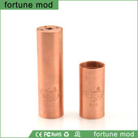 Wholesale 1 Clone fortune mod latest philippines design e cigarette fortune mechanical mods fit thread atomizer dhl
